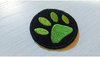 toppa MIRACULOUS LADYBUG - Chat Noir paw patch 5x5cm