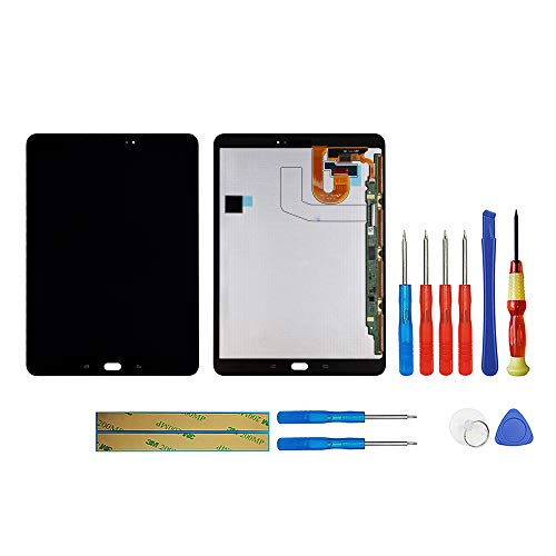 swark Super AMOLED Compatibile con Samsung Galaxy Tab S3 SM-T820, SM-T825 9,7 pollici LCD Display Touch Screen Digitizer Replacement