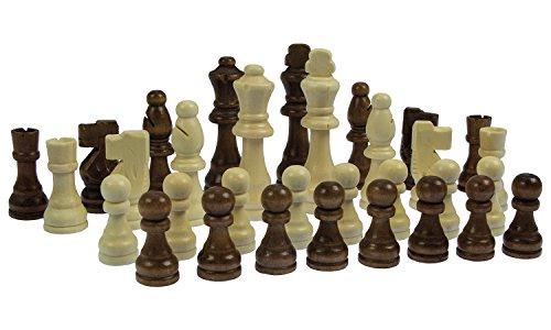 Holzspielerei Schachfiguren Set, Schach, Spielfiguren, XL Spielfiguren, Figuren Set