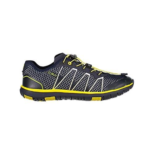 CMP Turnschuhe Sportschuhe Atlas Light Fitness Shoe grau atmungsaktiv leicht (42 EU, U423 Antracite)