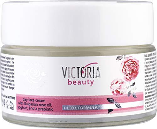 Crème de jour visage - Rose et yaourt - Formule detox