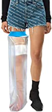 Waterproof Leg Cast Cover for Shower, Adult Full Leg Cast Shower Protector,Soft Comfortable Watertight Seal to Keep Wounds Dry, for Showering, Bathing and Hot-tub, Cast Watertight Protection