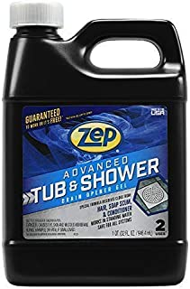 New! Zep Advanced Tub and Shower Drain Opener Gel 32 Ounce U49210