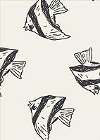 igsticker ポスター ウォールステッカー シール式ステッカー 飾り 1030×1456㎜ B0 写真 フォト 壁 インテリア おしゃれ 剥がせる wall sticker poster 010685 魚 海 生き物