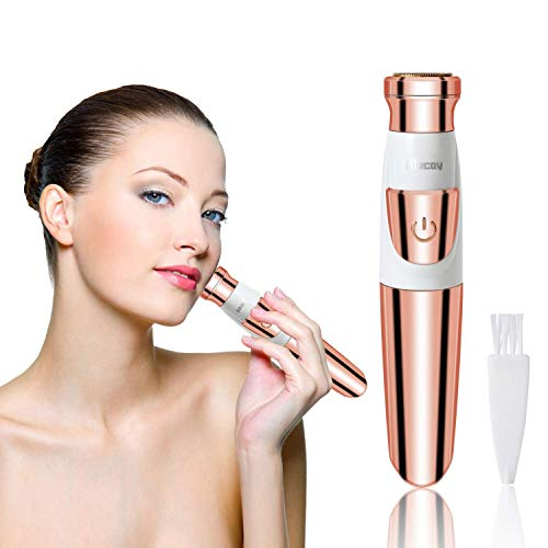 Women's Facial Epilator Waterproof Hair Remover for Face, Armpit, Chin and Body, The Best Gift for Women