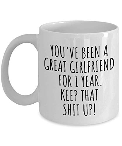 1st Year Dating Relationship Mug