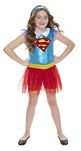 DC Super Hero meisje 56737-eu Supergirl Everyday verkleiden Outfit (One Size)