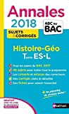 Annales ABC du Bac Histoire-Géographie Term L ES 2018