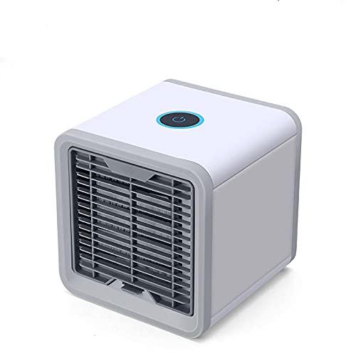 Mini Air Cooler Home Studente Dormitorio Desktop Desktop Piccolo Aria condizionata Ventola portatile USB Refrigerazione Aria condizionata Ventola-Paragrafo ordinario