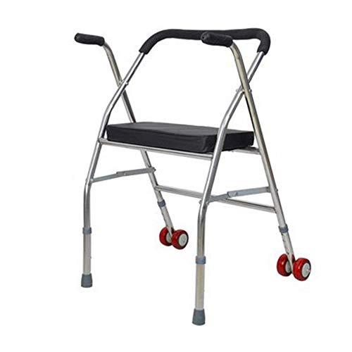PAKUES-QO Elektrischer Rollstuhl Rollator, Rollator Und Ruhesitz Für Ältere, Behinderte Und Mobilitätseingeschränkte Patienten