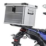 Topcase Aluminio Baul para Yamaha XT 600 E / 125 R/X Gobi 45L