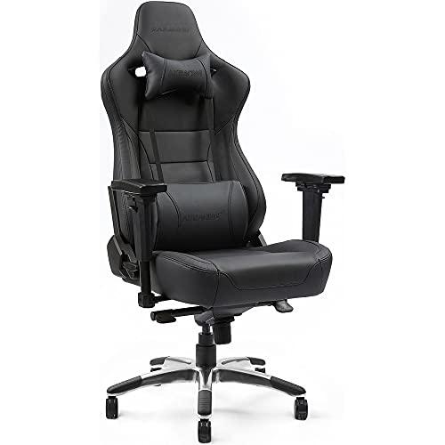 AKRacing オフィスチェア ゲーミングチェア Premium Monarca プレミアム モナルカ 本革シート 黒
