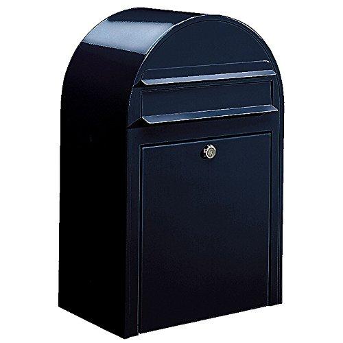 Bobi Classic Briefkasten RAL 5004 Schwarzblau Wandbriefkasten