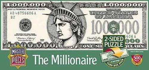 Millionaire 500 Piece Puzzle by American Puzzles