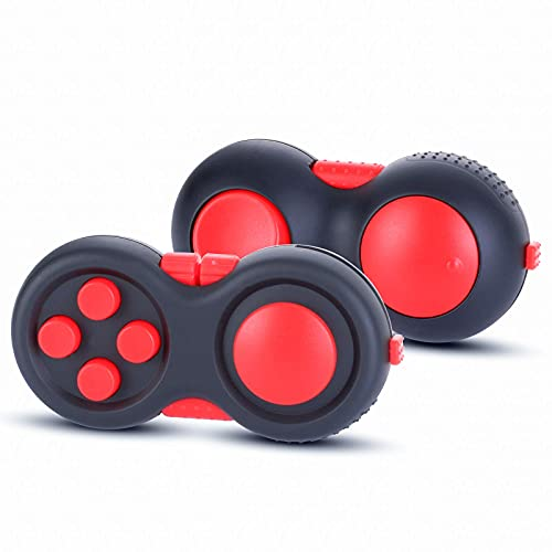 MOSHNOLY Fidget Controller Pad Sensory Silent Puzzle Game Premium Fidget Toys Set Relief Stress and Anxiety Depression for ADHD Autism Adults and Kids