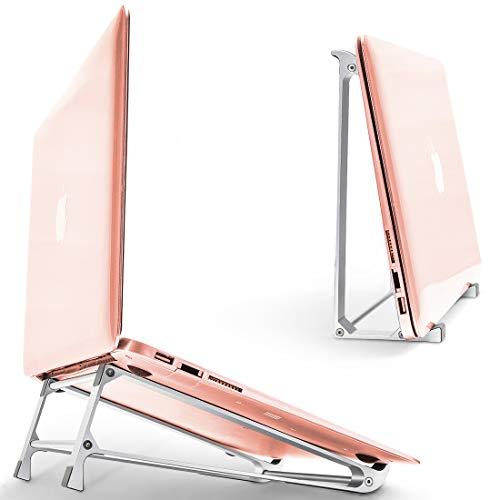 ノートパソコン スタンド 収納 スタンド ツーインワン pcスタンド パソコン台 タブレット ブックスタンド pc/ipad/macbook 多機種対応 姿勢改善 腰痛/猫背解消 高級感合金製