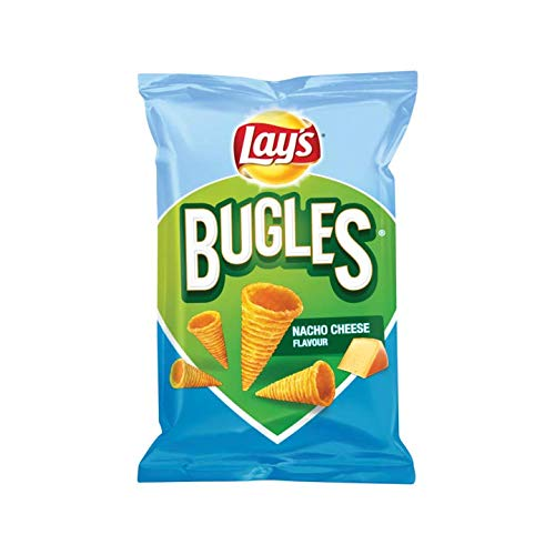 Nacho Cheese Chips | Lay's | Bugles Nacho Cheese Chips | Peso total 115 gramos