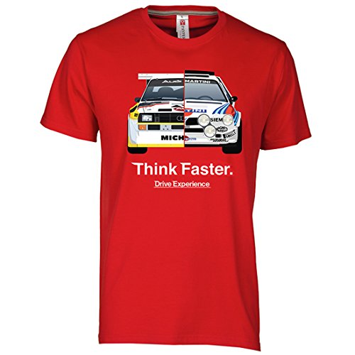 Drive Experience T-Shirt Rally Legends Gruppo B Lancia Delta S4