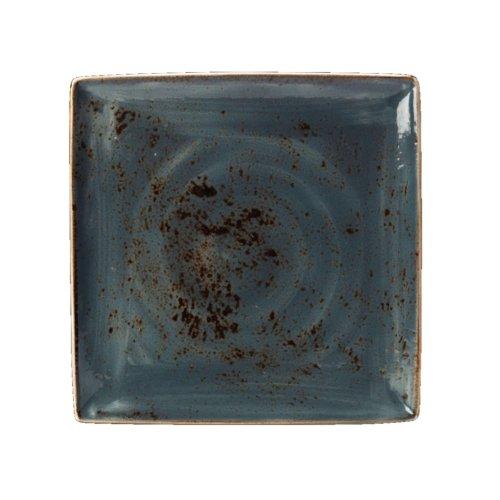 Steelite V013Craft–Plato, Cuadrado, Azul (Pack de 6)