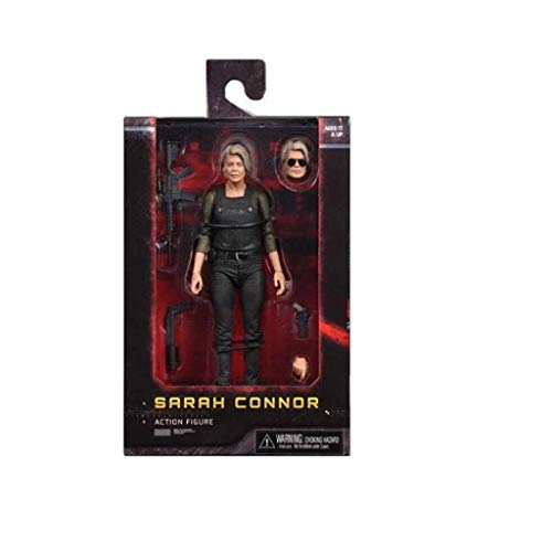ZRY Terminator Dunkles Schicksal: Sarah Connor Action-Figur Modell-Geschenk-Spielzeug Dekorationen Puppensammlung (7 Zoll)