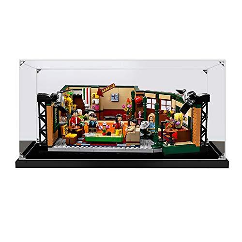 LODIY - Vitrina de acrílico para Lego 21319 Ideas Central Perk Friends – Vitrina a prueba de polvo (no incluye el modelo Lego) (2 mm)