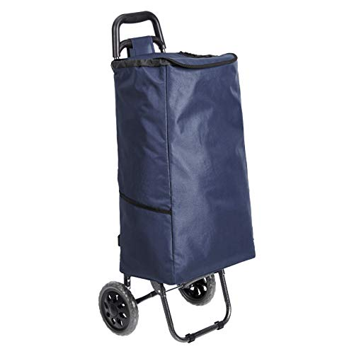 AmazonBasics - 2 ruedas, 40 litros, color azul marino