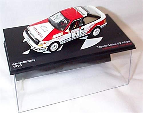 ixo Toyota Celica GT-Four Acropolis Rally 1990 C. Sainz Coche Escala 1:43 Modelo a presión