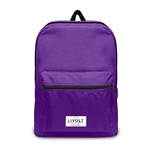 Livolt Royal Purple, Mochila Unisex Adulto, Morado, 30 L