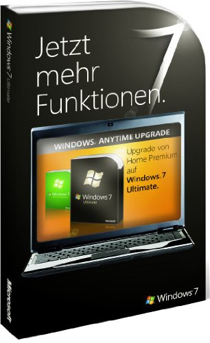 Windows 7 Anytime Upgrade - Home Premium auf Ultimate (Produktschlüssel)