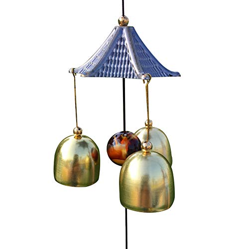 HshDUti Garden Metal Wind Chime Outdoor indoor Bell Wind Chime Home Decoration Hanging Ornaments C