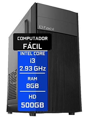 Computador Fácil Intel Core I5 3.20Ghz 8GB DDR3 HD 500GB