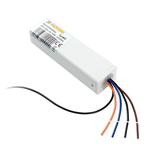 3T-MOTORS Mini-Funk-Empfänger MFE, Funk Empfänger zum Nachrüsten, einfache Installation, für Rolladenmotor Markisenmotor, kleiner Funk Empfänger, Funksteuerung, Funkfernbedienung