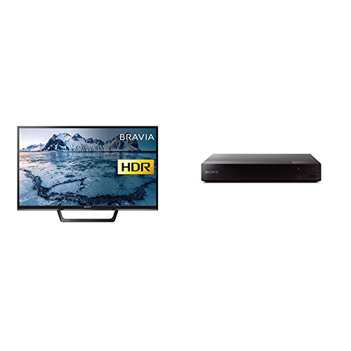 Sony Bravia KDL32WE613 (32-Inch) HD Ready HDR Smart TV with Sony BDPS1700B.CEK SMART Blu-Ray and DVD Player
