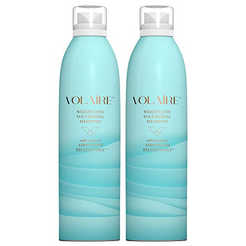 Weightless Volumizing Shampoo – Everyday Effortless Volume, Sulfate Free | Paraben Free | Colored Treated Hair Safe – Duo Pack/10.5 Ounces Each