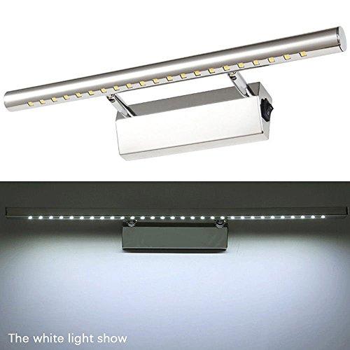VANKER 5W LED a Prueba de Agua Anti-vaho de baño Iluminación del...