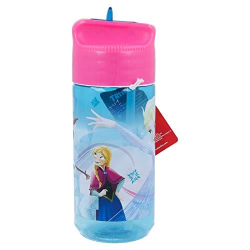Borraccia Bottiglia in Tritan per Bambini 430ml con beccuccio retraibile (Frozen)