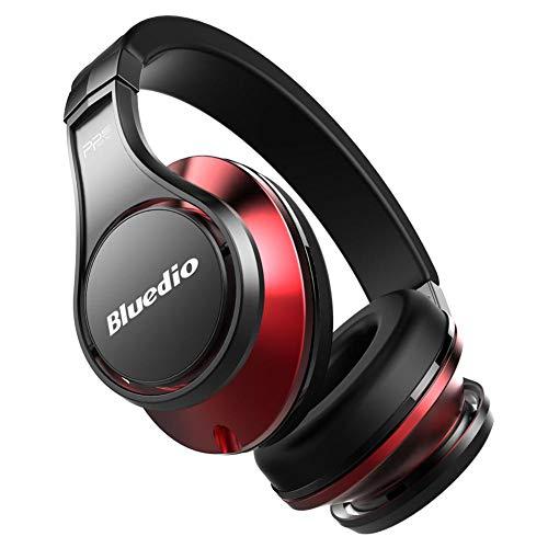 CITEJ HiFi Bluetooth Headset Headset Wireless 3D Surround Headset High-End-Bluetooth-Kopfhörer patentiert 8 Treiber / 3D-Sound/Aluminiumlegierung/HiFi-Over-Ear-Funkkopfhörer,F