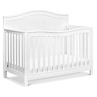 DaVinci Aspen 4-in-1 Convertible Crib in White, Greenguard Gold Certified by AmazonUs/MIVZ9