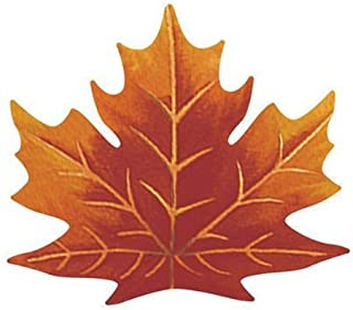 Leaf Shaped Paper Placemats - 6count - 13.5in X 15.25in