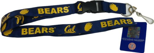 UC Berkeley Golden Bears Key Chain Lanyard Blue