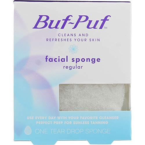 Buf-Puf Facial Sponge (Regular) 1 Unit (Pack of 2)