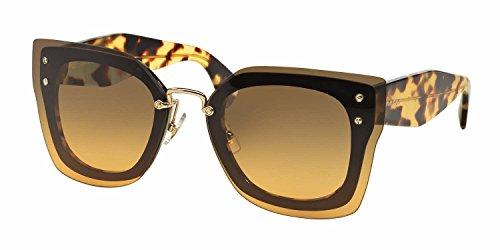 Miu Miu Unisex MU04RS Sonnenbrille, Schwarz (Black NAI0A3), One size (Herstellergröße: 67)