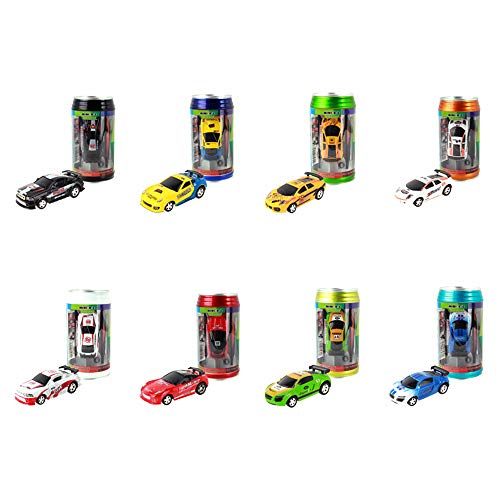 Mini CokeCan Rc Car,Remote Conrtol Micro Speed Racing Car,RC Car Toy...