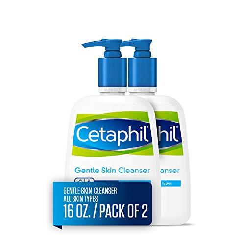 Cetaphil doux Peau Nettoyant, pour tous les types, 453,6 gram bouteilles (lot de 2)