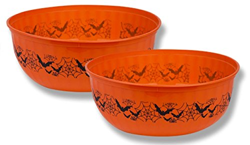 Halloween 10' Snack & Candy Printed Party Treat Bowls 3 Pack