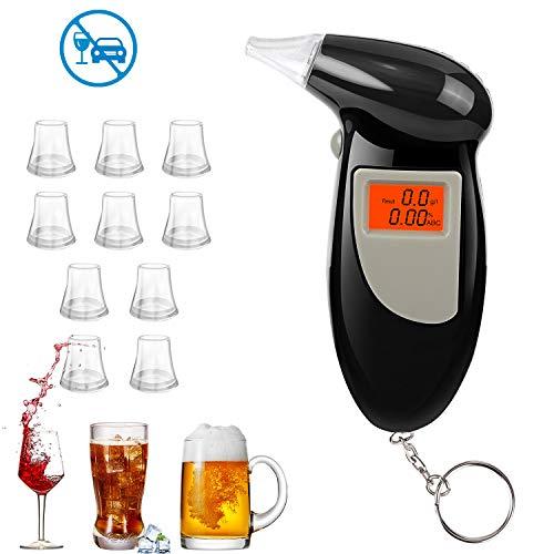 Redmoo Alcoholimetros, Probador de Alcohol Portátil