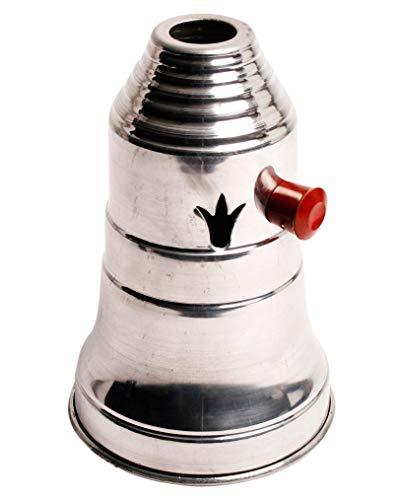 Aladin Windschutz für Shisha´s - 18cm hoch - Ø 12 cm - verchromt