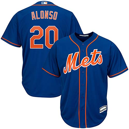 Pete Alonso New York Mets MLB Boys Youth 8-20 Player Jersey (Blue...