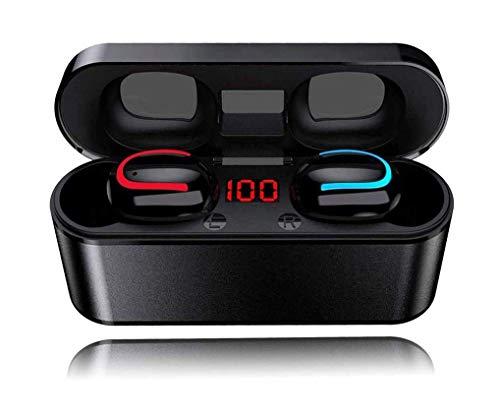 BIGFOX Cuffie Bluetooth 5.1,CVC 8.0 Riduzione Rumore,50 H Autonomia,Auricolari Bluetooth Stereo 3D,Auricolare Senza Fili Impermeabili per iPhone,Huawei,Xiaomi,Samsung,Sony,LG