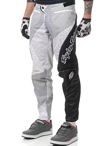Troy Lee Sprint Pant Turismo Weiß weiß/schwarz 76,2 cm (30 Zoll)